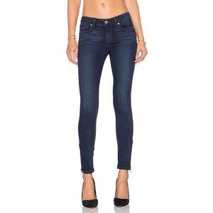 PAIGE Verdugo Ankle Zip Skinny Jeans [27]